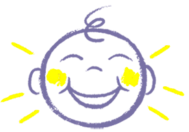 laughing child icon