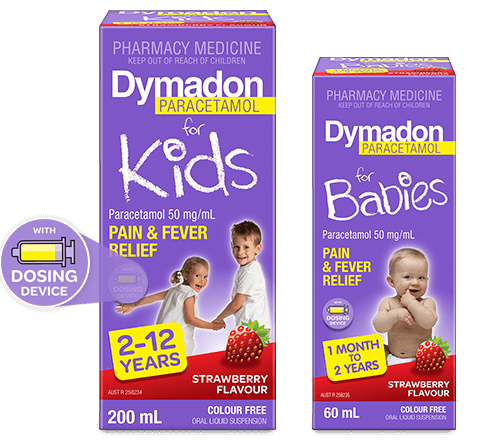 dymadon products packshot